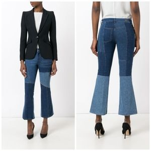 Alexander McQueen • Panelled Kick Flare Jeans